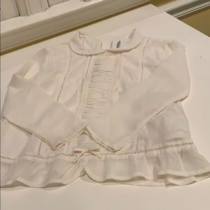 Mayoral ivory blouse